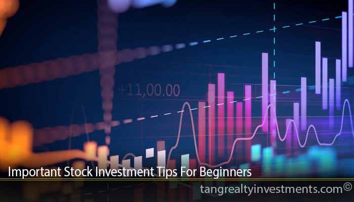 Important Stock Investment Tips For Beginners