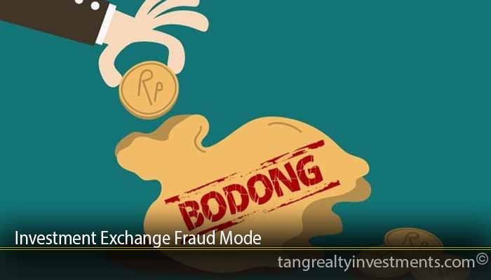 Investment Exchange Fraud Mode