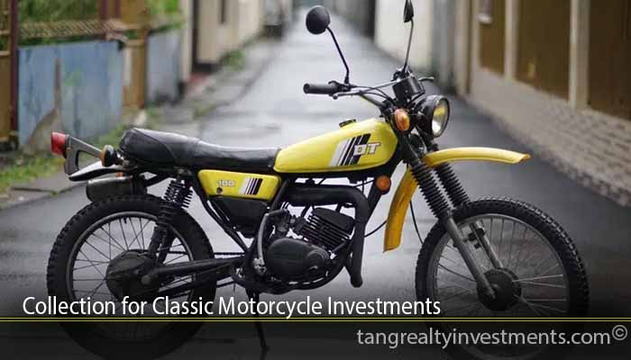 Collection for Classic Motorcycle Investments